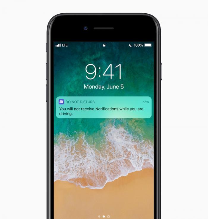 iOS 11 nicht Stören Auto