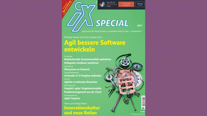 iX Special zu agiler Softwareentwicklung