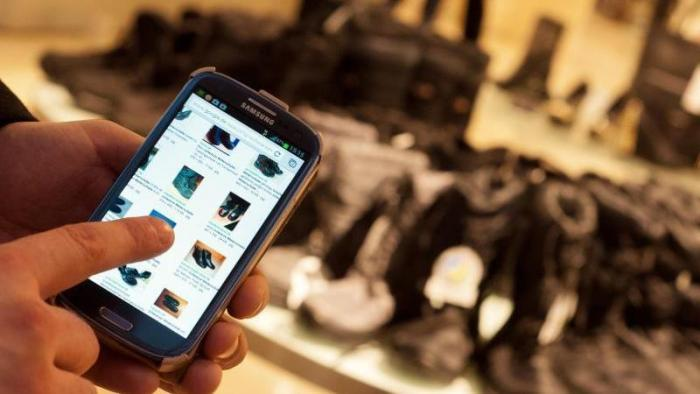 Online-Einkauf