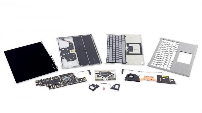 Unreparierbar: Surface Laptop fällt bei iFixit durch