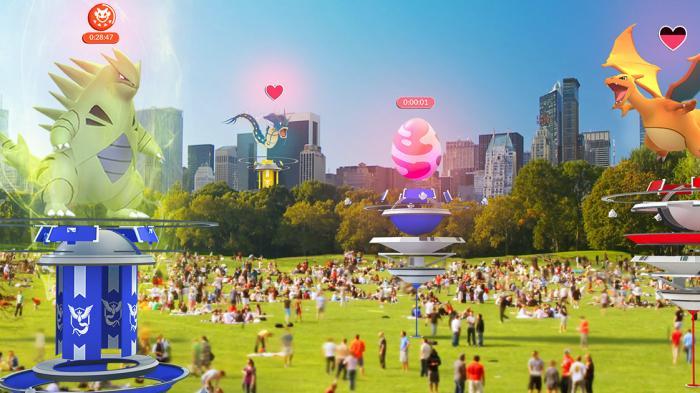 Pokémon Go: Neue Arena-Regeln, neues Spiel
