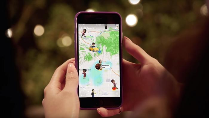 Neue Snapchat-Funktion bedroht Privatsphäre