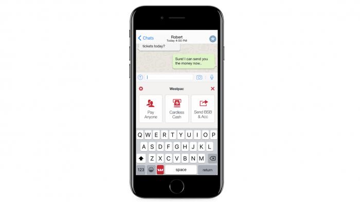 Apple wirft iPhone-Tastatur mit Überweisungsfunktion raus