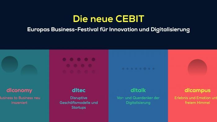 Aus CeBIT wird CEBIT: Computermesse neuer Prägung nimmt Gestalt als digitales Festivalan