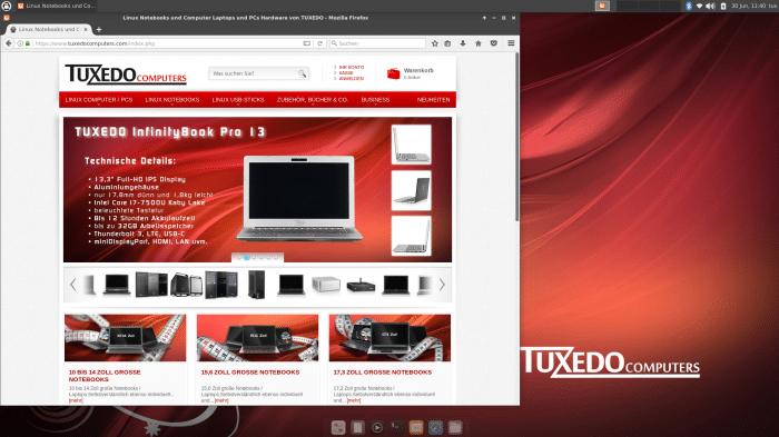 !!!Tuxedo Deutschen Notebooks-Hersteller bringt eigne Linux-Distribution