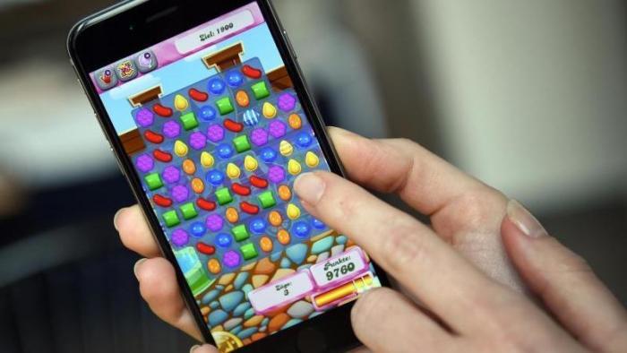Candy Crush auf iphone
