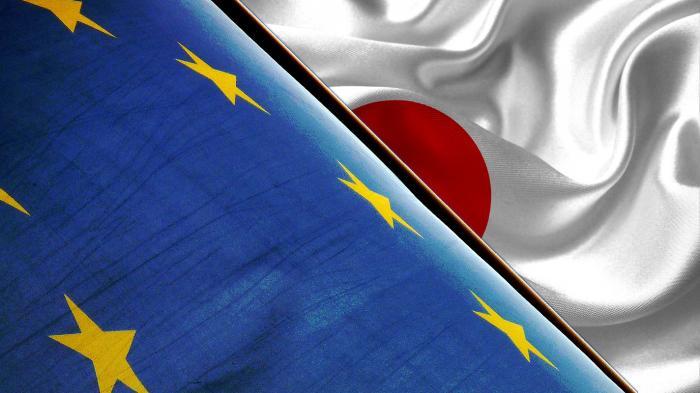 JEFTE (Flagge Europa und Japan)