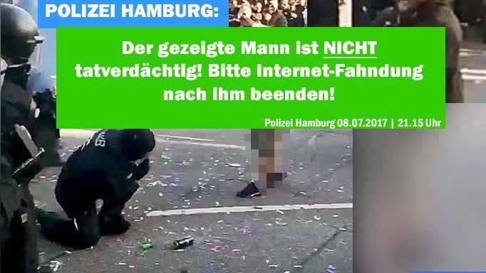 "G20-Krawalle: Linke und Polizei beklagen ""Online-Hetzjagd"" wegen privater Internet-Fahndung"