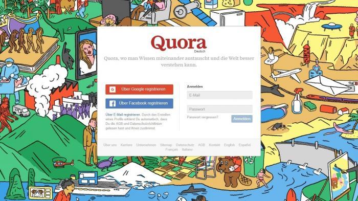 Quora startet in Deutschland