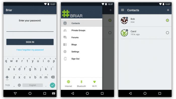 Public Beta des Peer-to-Peer-Messengers Briar gestartet