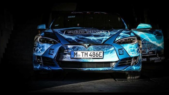 Electrified World Record: Rekordhalter wollen erneut mit Tesla Model S Europa durchqueren