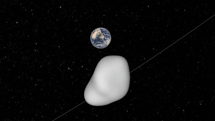 Naher Vorbeiflug eines Asteroiden: NASA will planetare Verteidigung prüfen