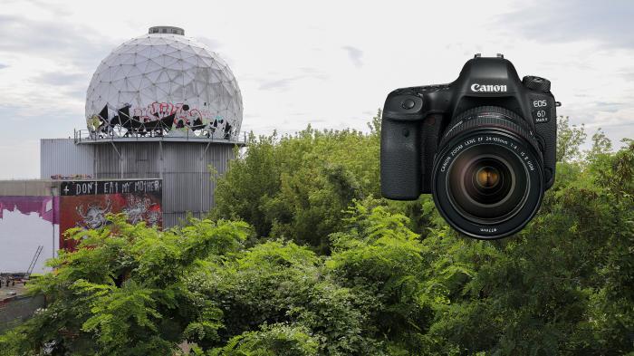 Canon EOS 6D Mark II, Teufelsberg