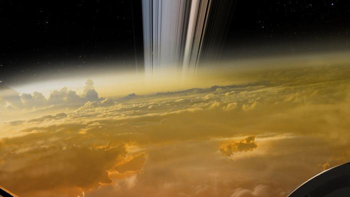 NASA-Sonde Cassini soll zur Atmosphäre des Saturn abtauchen
