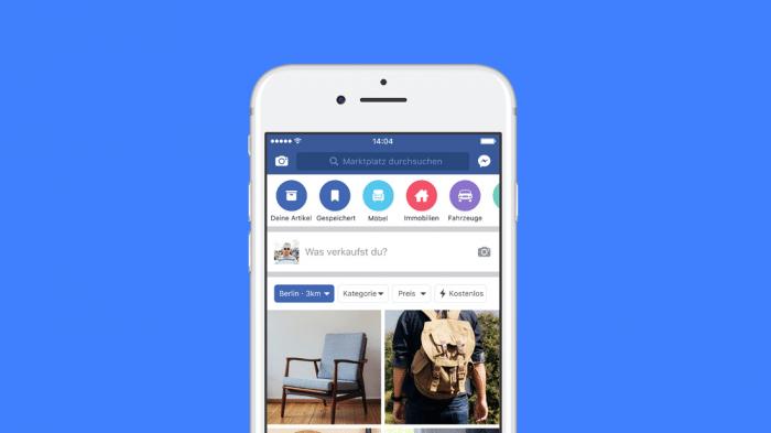 Facebook-Marktplatz startet in Deutschland