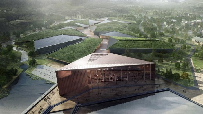 Rechenzentrum Kolos in Ballangen, Norwegen
