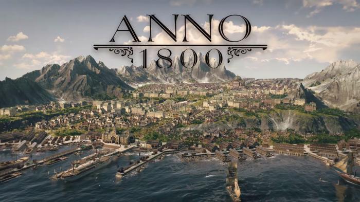 Ubisoft kündigt Anno 1800 für Windows-PCs an