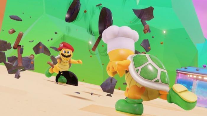 Super Mario Odyssey: Kleiner Mann mit Hut
