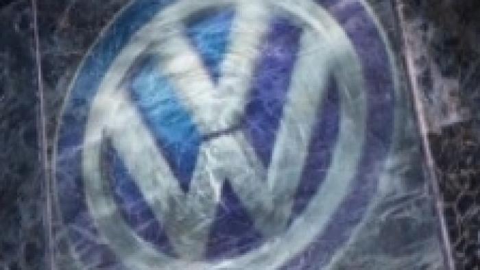 Verrauchtes VW-Logo