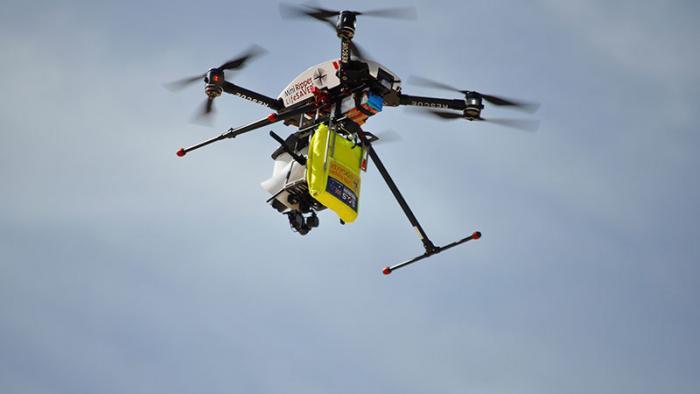 Intelligente Drohne erkennt Gefahr durch Haie