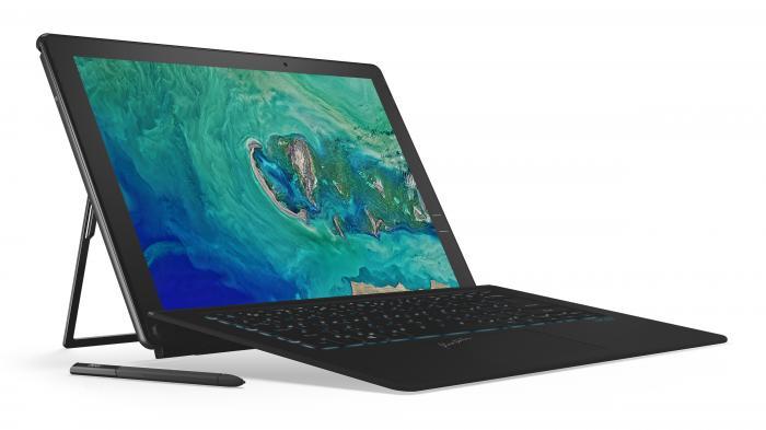 Acers Notebook-Rundumschlag: 2-in-1-Tablets mit GeForce, leichte Gaming-Laptops und neue CPUs