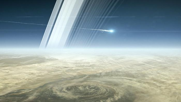 Vor dem Sturz in den Saturn: NASA-Sonde Cassini soll bis zuletzt funken