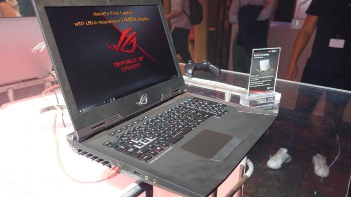 Asus ROG Chimera: 17-Zoll-Gaming-Notebook mit GTX1080 und 144-Hz-Display