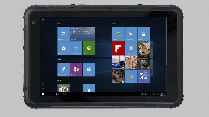 Caterpillar bringt robustes Windows-10-Tablet