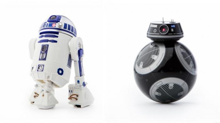 Sphero: R2-D2 und BB-9E als fernsteuerbare Roboter