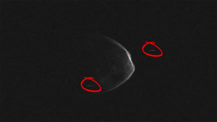 Bei Vorbeiflug an Erde: Zwei Monde bei riesigem Asteroiden gefunden