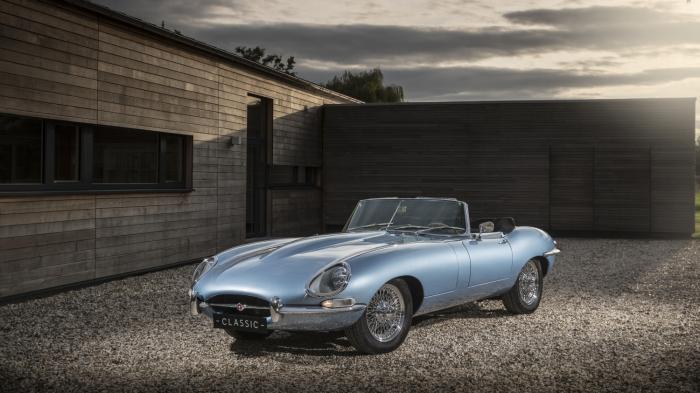 """Elektroauto Jaguar E-type Zero: """"Das schönste Elektroauto der Welt"""""""