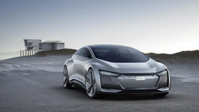 Audi Aicon: Studie für autonomes Elektroauto der Zukunft