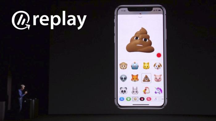 Replay: iPhone X, IPhone 8, Face ID