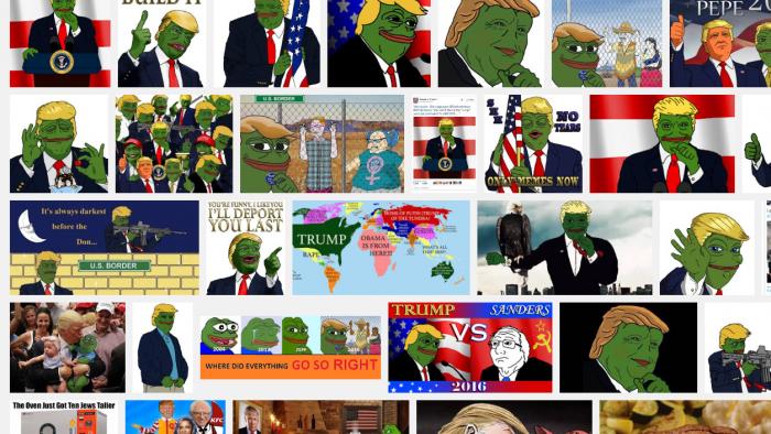 """Symbol der Rechten: Erfinder will """"Pepe den Frosch"""" mit Urheberrecht zurückerobern"""