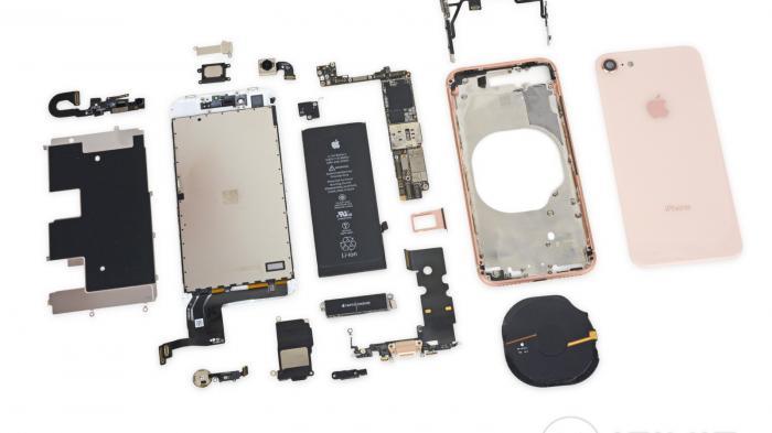 iPhone 8 im Teardown: Intern ähnlich wie das iPhone 7