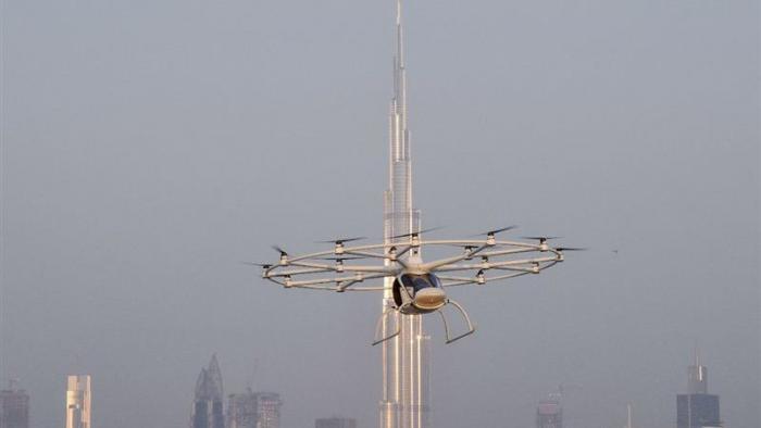 Volocopter: Lufttaxi hebt erstmals in Dubai ab