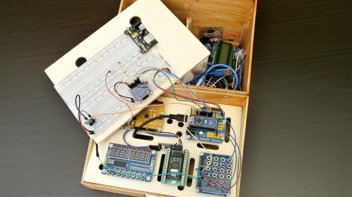 Eine Box für Arduino-Projekte