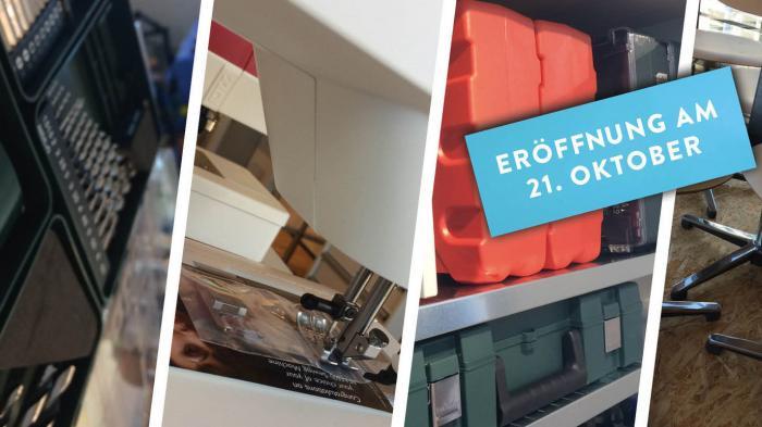 Makerspace trifft Café: Eröffnung in Brunnen