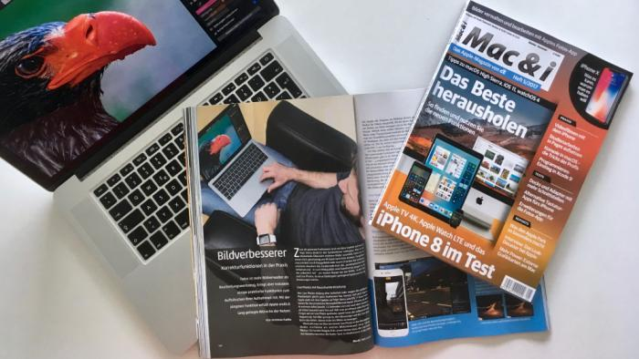 Mac & i Heft 4/2017 jetzt im Zeitschriftenhandel