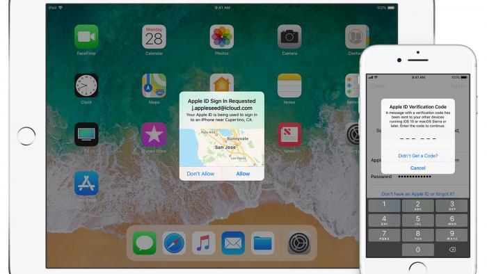 Zwei-Faktor-Authentifizierung: Apple zeigt weiter falsche Orte
