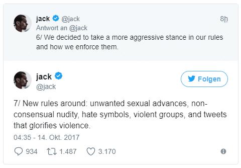 Twitter verspricht neue Regeln gegen Hass und Belästigung