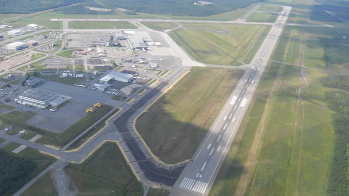 Luftaufnahme Flughafen Quebec YQB