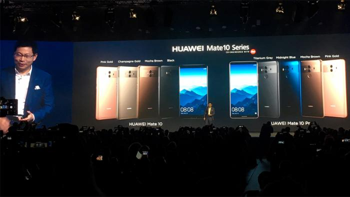 Huawei Mate 10 Pro mit speziellem KI-Prozessor