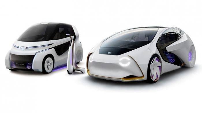 Elektroautos: Toyota zeigt weitere Concept-i-Studien