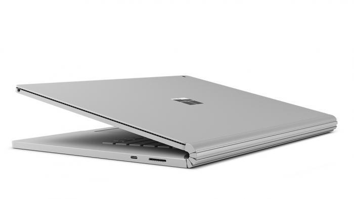 Optisch unterscheidet sich das Surface Book 2 nicht vom Vorgänger.