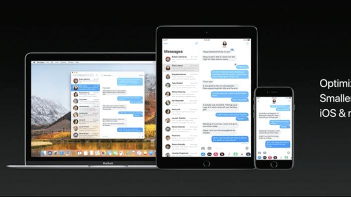 macOS High Sierra: Bug stört iMessage erheblich