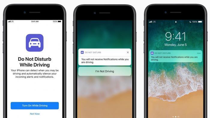 """iOS 11: """"Beim Fahren nicht stören""""-Modus gegen Bußgelder"""