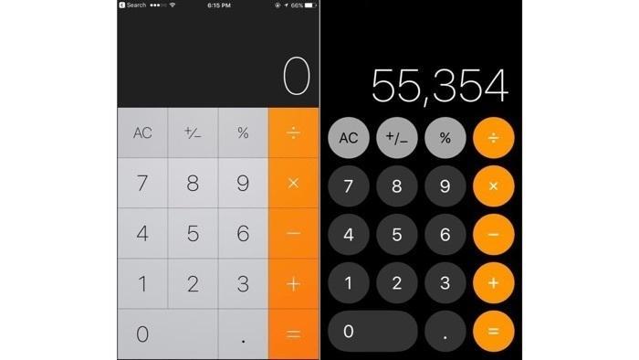 iOS 11: Taschenrechner kommt beim Tippen nicht hinterher