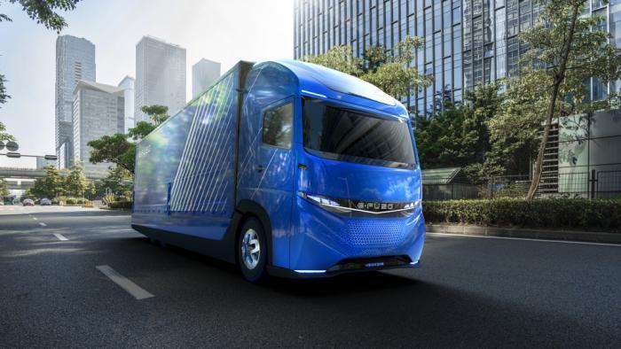 E-FUSO: Daimler präsentiert eigene Elektro-Marke für Lkw und Busse
