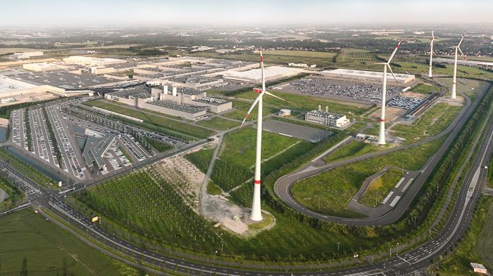 BMW nutzt alte Elektroauto-Batterien zur Stromversorgung im Leipziger Werk
